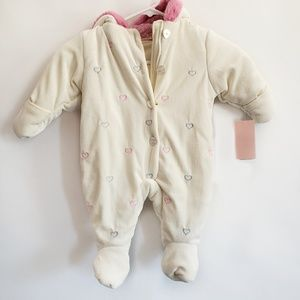 NWT infant one piece coat 3-6 months